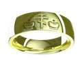 M0221 - 18k Green Gold (6 mm)