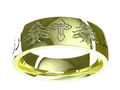 M0301 - 14k Green Gold (6 mm)