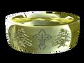 M0305 - 18k Green Gold (6 mm)