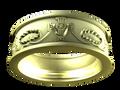 M0401 - 14k Green Gold (7.5 mm)
