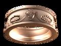 M0401 - 18k Rose Gold (7.5 mm)