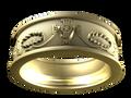 M0401 - 18k Yellow Gold (7.5 mm)