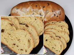Danish Style Raisin Bread
