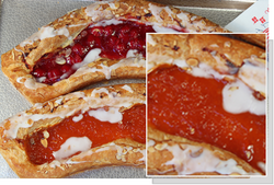 Apricot Danish Fruit Strip