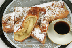 Danish Style Apple Strudel