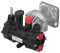Comet Diaphragm Pump with Gear - 3.5 GPM, 220 PSI, 3/4in. Shaft, Model# MC18