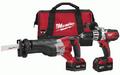 Milwaukee 2694-22 M18 18-Volt 2-Tool Cordless Combo Kit