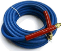 """P/W Hose, Smooth Cover, 4000 psi, BLUE non-marking, 3/8""""x 50'"""