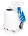 25 GAL PORTABLE FOAM UNIT-NATURAL-SANTO-BLUE LID