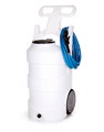 10 GAL PORTABLE SPRAY UNIT-NATURAL-VITON-BLUE LID