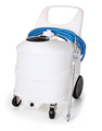 30 GAL PORTABLE GEL UNIT-NATURAL-SANTO-AIR MOTOR AGITATOR