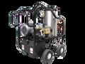 4230VB-20C1, 4 Wheel Portable V-Belt Drive Electric Model, 4.0 GPM @ 2500 PSI, 5.0 HP, 230V/1PH/25A, CAT Pump