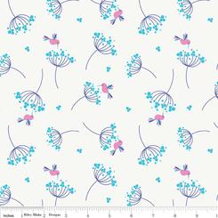 Wildflower Meadow Birds - Blue