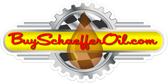 "Buy Schaeffer Oil Logo die-cut peel and stick stickers from your favorite Schaeffer Oil store.  These stickers are made in USA made from the highest quality vinyl for a long-lasting effect.  Stick them to your race car, motor cycle, car windows, bumpers, boats, ATV's, notebooks, garage door, trailers, or 4x4's.  Available in 8.15"" x 4"" full-color, self-adhesive BuySchaefferOil.com logo decals stick to most surfaces."