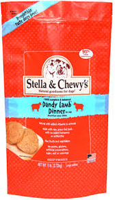 Stella & Chewy's Dandy Lamb Raw Frozen Dinner for Dogs (3 lb.)
