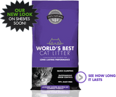 World's Best Cat Litter Lavender Scent Multi-Cat (Purple Label), 28 lb.