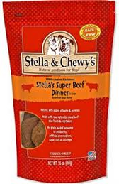 Stella & Chewy's Super Beef Raw Frozen Dinner for Dogs (Choose Size to View Price)
