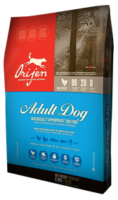 Orijen Adult Dog Food, 25 lb.