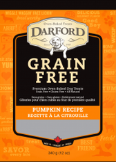 Darford Grain Free Pumpkin Biscuits (12 oz.)