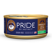 Pride by Instinct, Daredevil's Duck Recipe canned cat food, 5.5 oz.