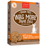 Wag More Bark Less Baked Peanut Butter & Apples Treats, 14 oz.