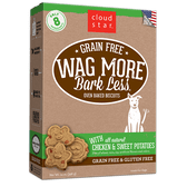 Wag More Bark Less Baked Chicken & Sweet Potatoes Biscuits, 14 oz.
