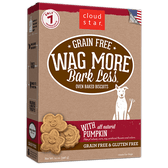 Wag More Bark Less Baked Pumpkin Biscuits, 14 oz.