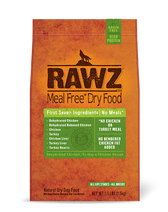 Rawz Chicken Turkey Dog Food (Choose size to view price)