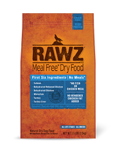 Rawz Salmon, Chicken, Whitefish Dog Food (Choose size to view price)