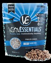 Vital Essentials Freeze Dried Mini Nibs, Beef, 1 lb.