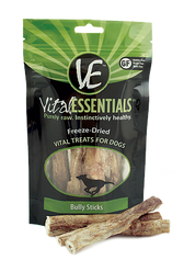 Vital Essentials Freeze Dried Bully Sticks, 5 pieces