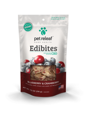 Blueberry/Cranberry CBD Hemp Oil Edibites, 7.5 oz.