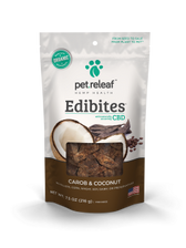 Carob/Coconut CBD Hemp Oil Edibites, 7.5 oz.