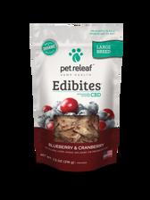 Large Breed Blueberry/Cranberry CBD Hemp Oil Edibites, 7.5 oz.