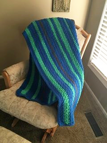 Elements of Earth Blanket Crochet Pattern