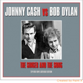 Johnny Cash & Bob Dylan-The Singer And The Song-new 2LP 180 gr RED VINYL