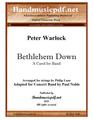 Bethlehem Down