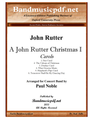 A John Rutter Christmas I - Carols