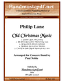 Old Christmas Music - Concert Band
