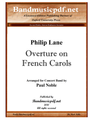 Overture on French Carols
