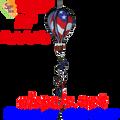 """25797  Patriotic 16"""" Hot Air Balloons (25797)"""
