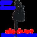 80117  Snowman Finial (80117)