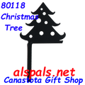 80118  Christmas Tree Finial (80118)