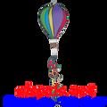 "Rainbow 16"" Hot Air Balloons (25781)"