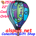 "25764 Cool Orbit 22"" Hot Air Balloons (25764) Wind Spinner"