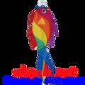 "52"" Rainbow Wrasse Fish (77733)"