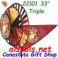 22101  Marines Triple Spinners (22101)