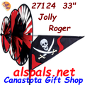 27124 Jolly Roger Triple Spinners (27124)