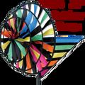 27114  Rainbow Tecmo Triple Spinners (27114)