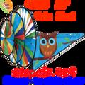 22109  Cute Hoot ( Owl ) : Triple Spinners (22109)